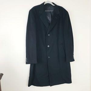R. CARUSO handmade Italian wool/cashmere coat